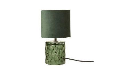 Billede af Bordlampe / Grøn glas / 29cm.