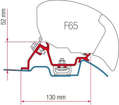 Billede af Adapter til Fiamma F65/F65S