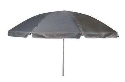Billede af Parasol Ø: 165 cm. - Grå