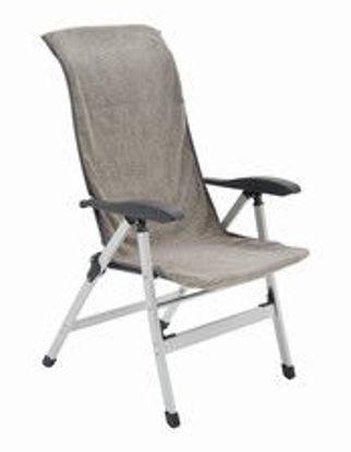 Billede af Håndklæde til stol - Grå