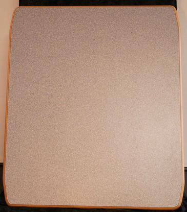Billede af Bordplade - Grå 74 x 87 cm. (Brugt)