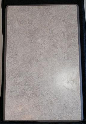 Billede af Bordplade - lys gråmeleret - 62 x 98 cm. (Brugt)