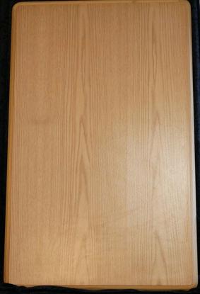 Billede af Bordplade - lys træfarvet - 97 x 62 cm. (Brugt)