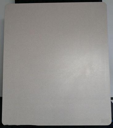 Billede af Bordplade - lys grå - 80 x 94 cm. (Brugt)
