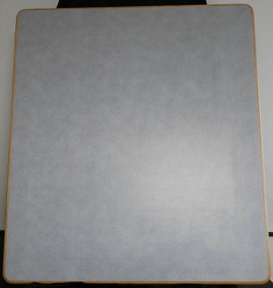 Billede af Bordplade - grå - 106 x 120 cm. (Brugt)