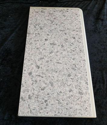 Billede af Køkken Bordplade - lysegrå(rose meleret - 50 x 25 cm. (Brugt)