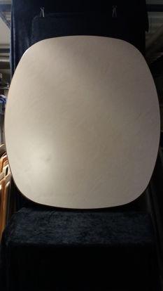 Billede af Bordplade - Sandfarvet 98,5 x 114 cm. (Brugt)