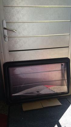 Billede af Brugt vindue 95,5 x 55 cm.