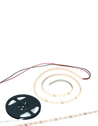 Billede af Lysbånd 12V / 5m. med kabel og 3M tape