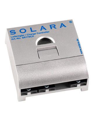 Billede af Regulator til solcelle / 12/24V / 10A 680 Wh/T/ 170 Wp.