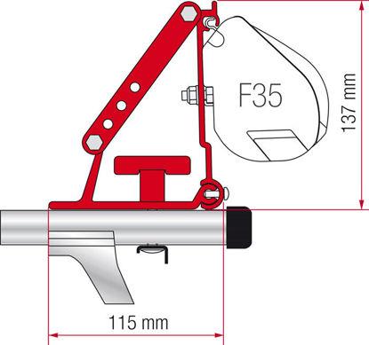 Billede af Beslag til Fiamma F35 Pro/ F45 / F70
