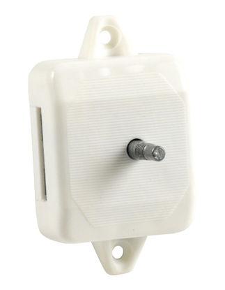 Billede af Lås 1-punkt til toiletdør hvid