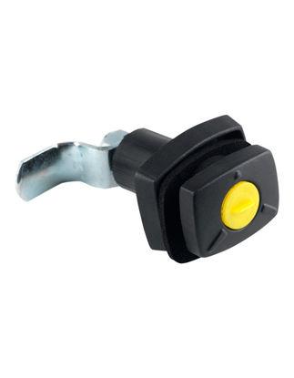 Billede af Gaskasselås uden låsecylinder sort System FF Zwo