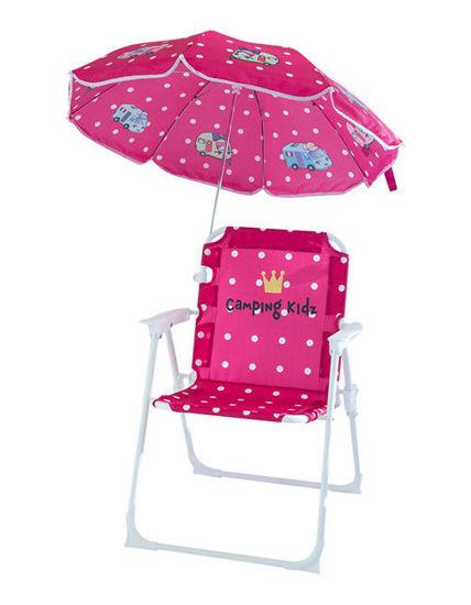 Billede af Barnestol med parasol